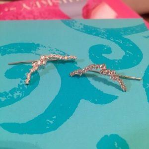 ✨3 for $15✨ Rose gold ear crawler earrings